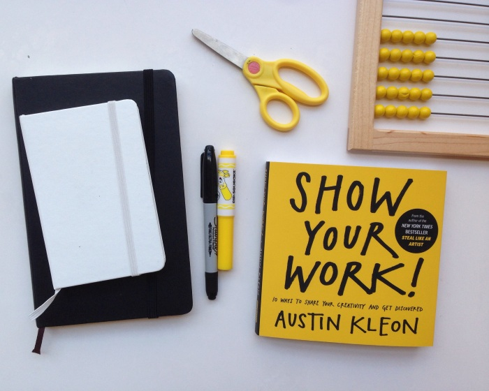 show your work | year of creative habits