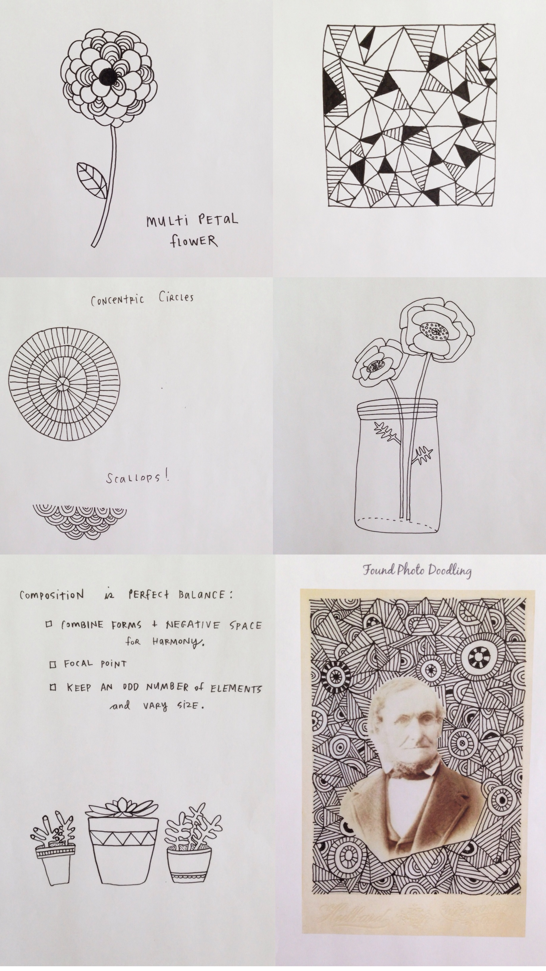 Lisa Congdon drawing class | year of creative habits