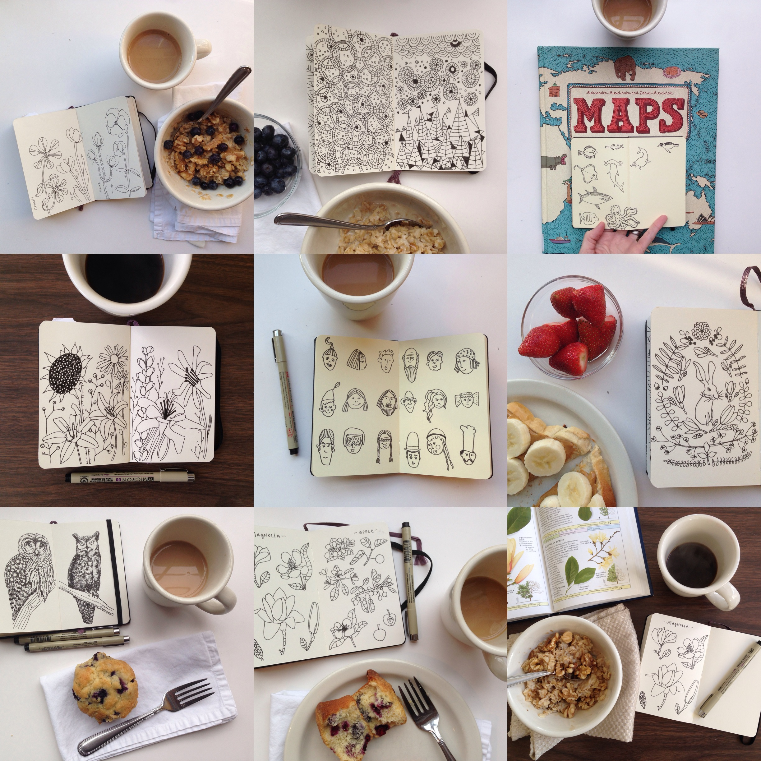 march review | year of creative habits