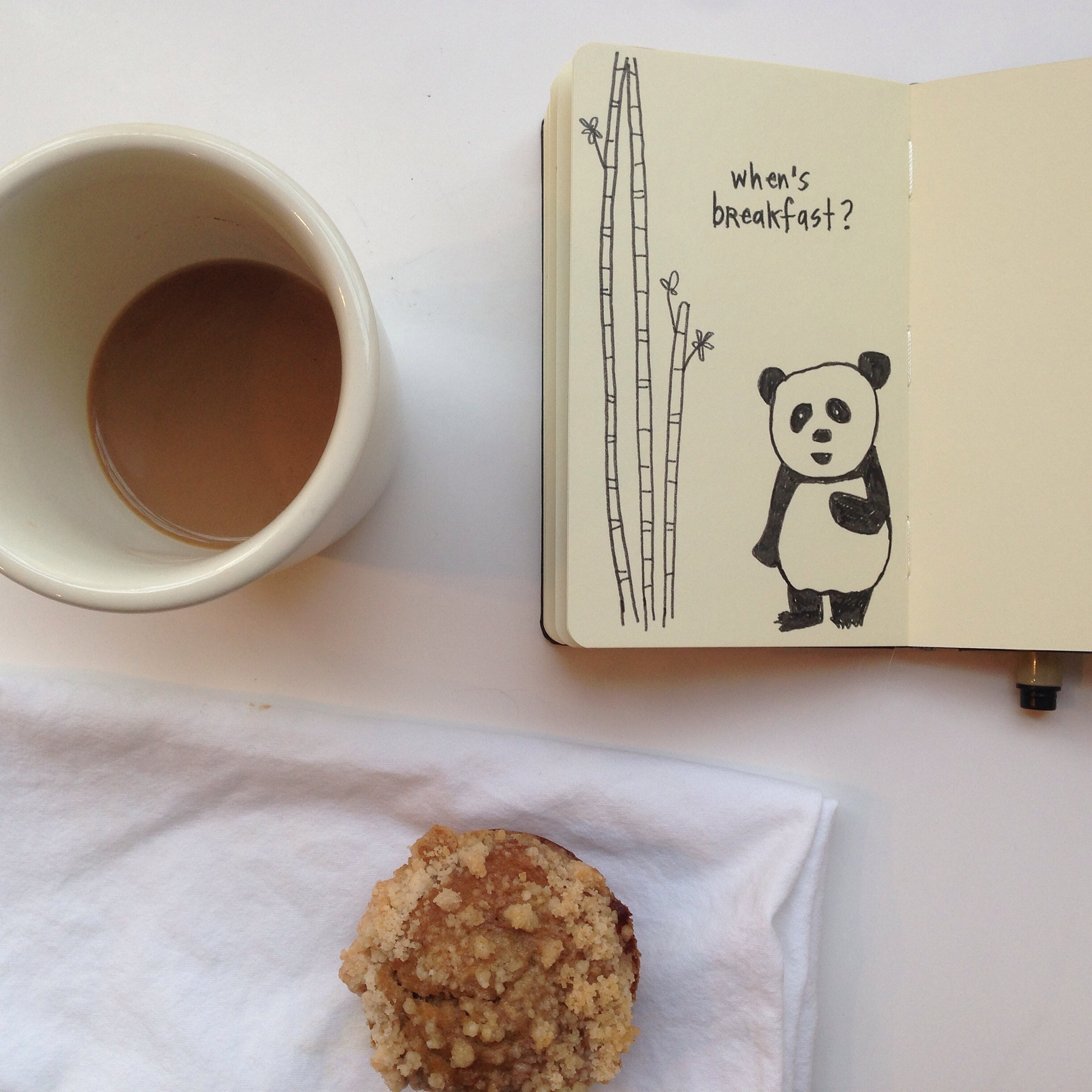 hungry panda 102/365 | year of creative habits