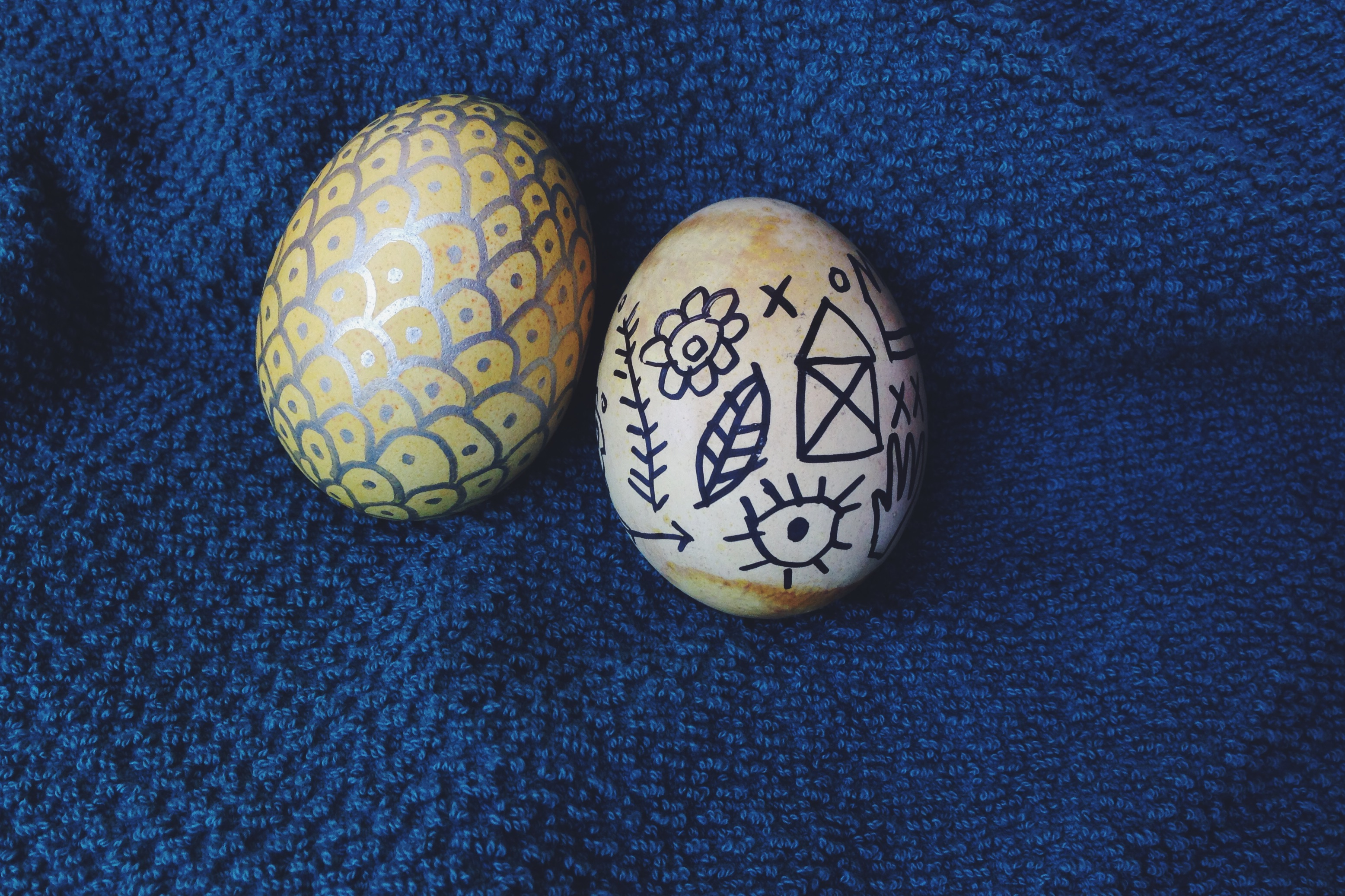 Easter eggs | year of creative habits